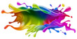 Paint splash design - 74334879