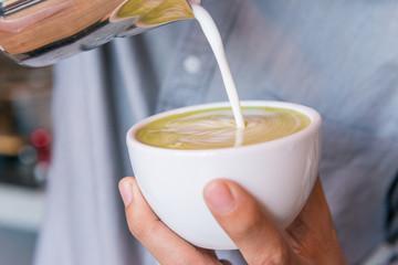 green tea of art