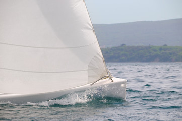 Sailboat speed