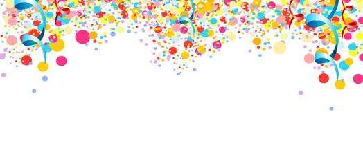 konfetti banner