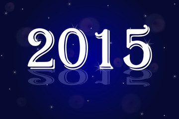 In the New Year 2015 in Space