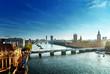 roleta: Westminster aerial view, London, UK