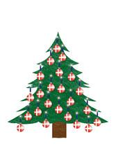 Weihnachtsbaum - Dänemark