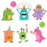 Birthday monsters - 74339631