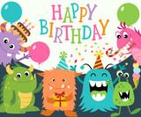 Happy Birthday Monsters - 74339638
