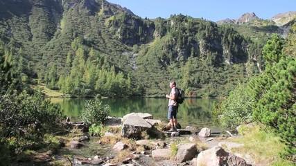 Wandern - 005 - Bergsee - Boesenstein