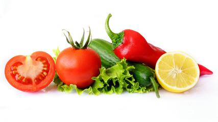Domates ve diğer sebzeler