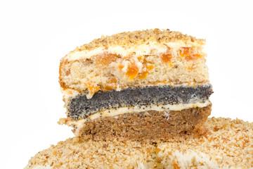 home sweet three-layer cake