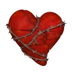broken heart, lovesickness