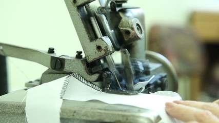 sewing workshop, sewing clothes, close up 3