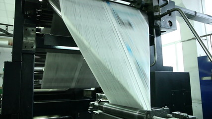 typography, printing newspapers