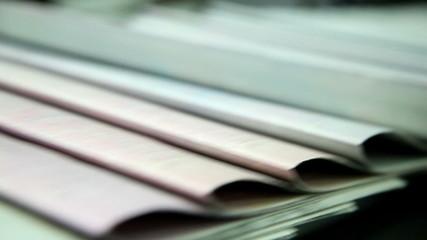 printing paper in printing house 7