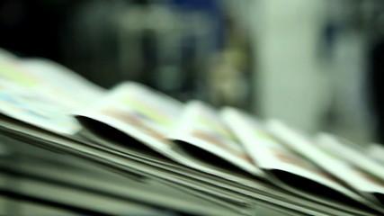 printing paper in printing house 6
