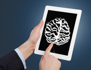 Tablet Computer with brain