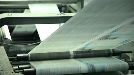 printing paper in printing house 5