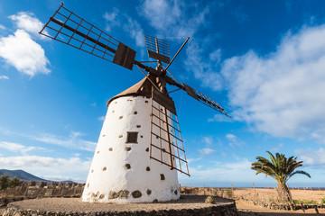 Windmill in El Roque, Fuerteventura (Spain)