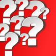 Fragezeichen 3d weiss #141207-svg02
