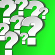 Fragezeichen 3d weiss #141207-svg03
