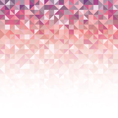 A pink abstract geometric vector background