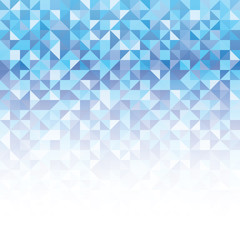 A blue abstract geometric vector background