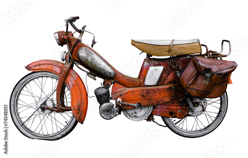 Vintage French Moped - 74348051