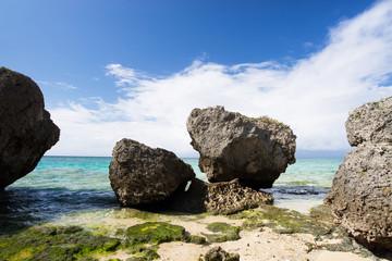 沖縄のビーチ・ニライビーチ