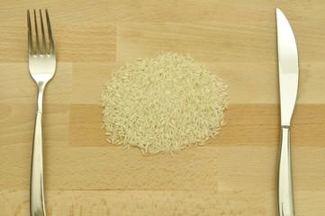 Grundnahrungsmittel Reis