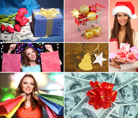 Christmas sale collage