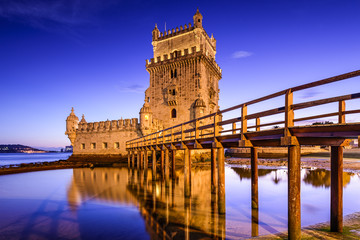 Belem Tower of Lisbon, Portugal