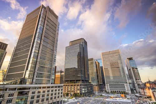 Foto op Plexiglas Japan Tokyo, Japan Office Buildings