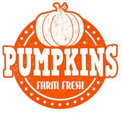 Pumpkins stamp