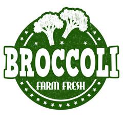 Broccoli stamp