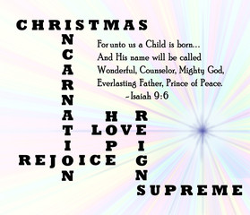 christmas incarnation is the reason for the season