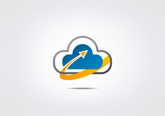 cloud Business Abstract icon web symbol Modren icon