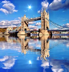 Awesome London Tower Bridge point of view