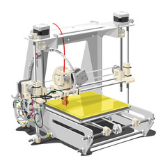 plastic 3D printer