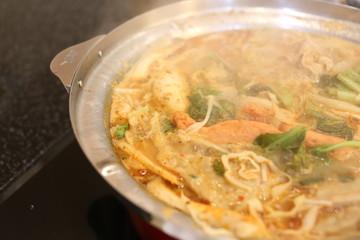 Sukiyaki of spicy.