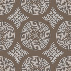 Meander Seamless pattern