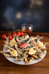 SARDE FRIES, DISH SICILIANO