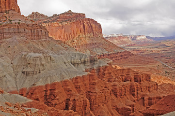 Dramatic Cliffs in the American West