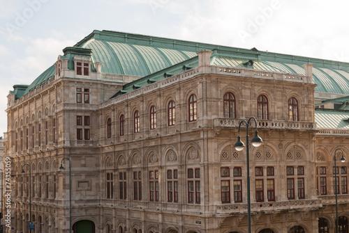 canvas print picture Wiener Staatsoper