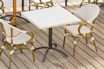 terrasse de bar, restaurant, café