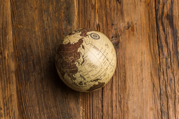 エコロジーな地球儀素材