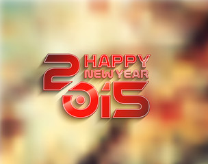 New Year 2015 Background.