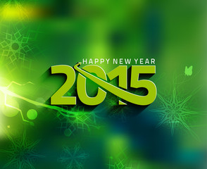 New Year Party Poster Template Design