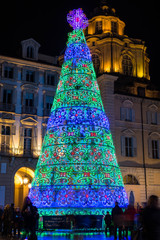 Christmas Tree in Turin