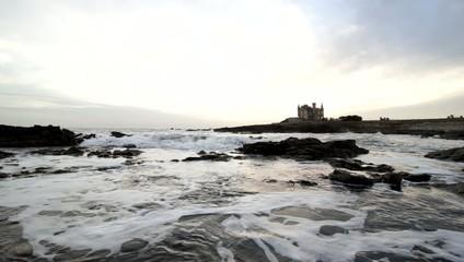castle sea ocean