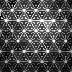 Mosaic Floral Pattern