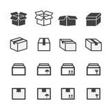 box icon set - 74360681