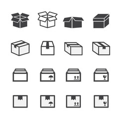 box icon set